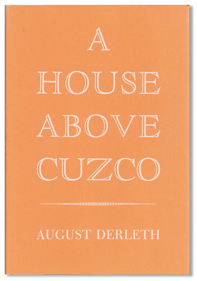 New York: The Candlelight Press, 1969. First Edition. Octavo; rust-colored paper-covered boards and ...