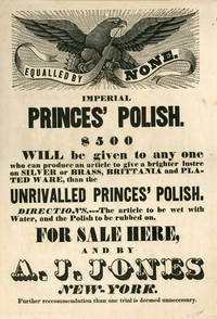 Imperial Princes' Polish Broadside with American Eagle [American Eagle, Broadside, Furniture Polish]