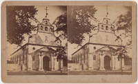Old Spanish Cathedral, St. Augustine, Florida stereoview ca. 1885