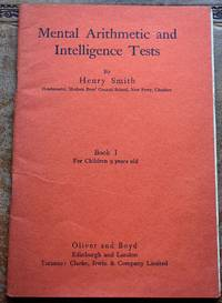 image of Mental Arithmetic And Intelligence Tests
