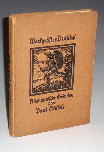 Verlag G. Braun, Karlsruhe, 1925. Krumm, Erwin. Octavo. 144p. illustrated with woodcuts by Erwin Kru...