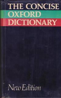 image of THE CONCISE OXFORD DICTIONARY