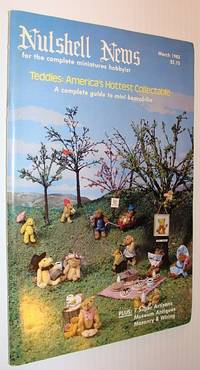 Nutshell News Magazine - For the Complete Miniature Hobbyist, March 1983 - Teddies - America's Hottest Collectable