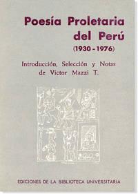 Poesía Proletaria del Perú (1930-1976)