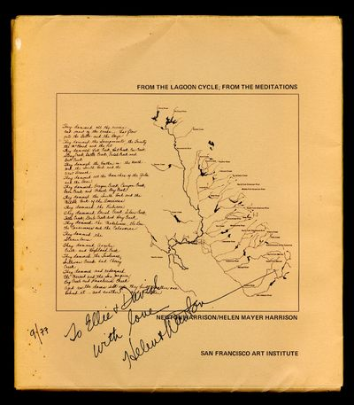 San Francisco: San Francisco Art Institute, 1977. Inscribed 9/77 to David and Eleanor Antin. Many mo...