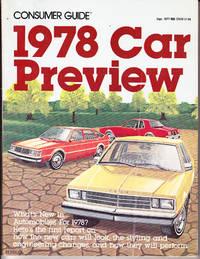 Consumer Guide 1978 Car Preview