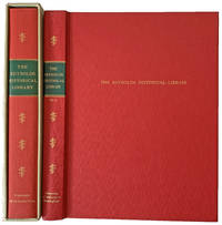 Rare Books and Collections of the Reynolds Historical Library. A Bibliography.