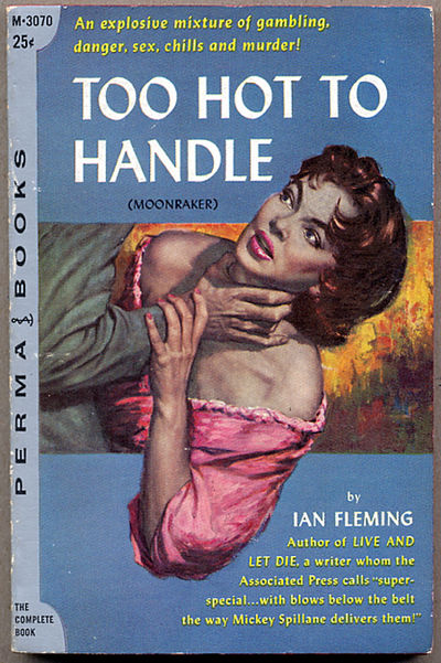 New York: Perma Books, 1956. Small octavo, cover art by Lou Marchetti, pictorial wrappers. First U.S...