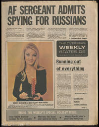 THE OVERSEAS WEEKLY STATESIDE; AF Sergeant Admits Spying For Russians [Headline] by  Joseph B. (publisher) Kroesen - 1973 - from Alta-Glamour Inc. (SKU: 88430)