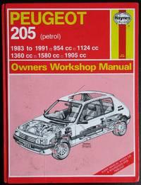 Peugeot 205 Owner's Workshop Manual. Petrol 1983 to 1991. 954cc, 1124cc, 1360cc, 1580cc, 1905cc,