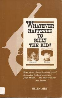 image of Whatever Happened to Billy the Kid?