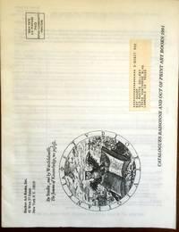 Hacker Art Books. Catalogues Raisonne and Out of Print Art Books 1991