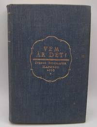 image of Vem Ar Det? Svensk Biografisk Handbok 1935