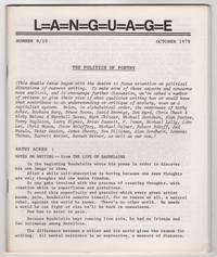 L=A=N=G=U=A=G=E 9/10 (Language, Volume 2, Numbers 3 & 4, October 1979)