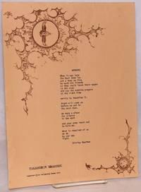 Wonders [broadside poem]