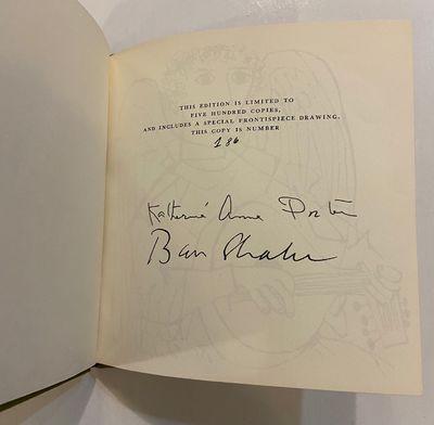 New York: Delacorte, 1967. hardcover. fine. Shahn, Ben. Illustrated by Ben Shahn. Square 16mo, olive...