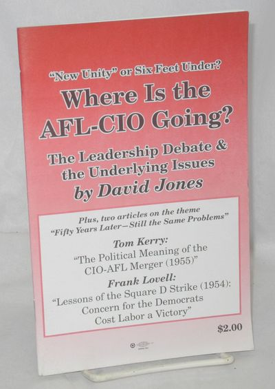 San Francisco: Socialist Action / Labor Standard, 2005. Pamphlet. 31p., staplebound pamphlet, very g...