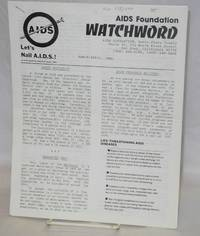AIDS Foundation Watchword: March/April 1984