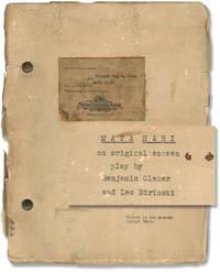 image of Mata Hari (Original screenplay for the 1931 film)