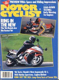 Motorcyclist January 1986