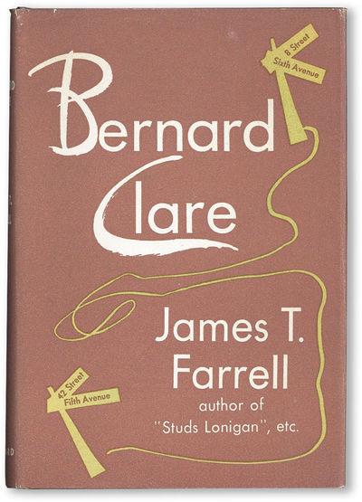 New York: Vanguard Press, 1946. First Edition. Hardcover. Octavo (21.5cm.); original cloth in brown ...