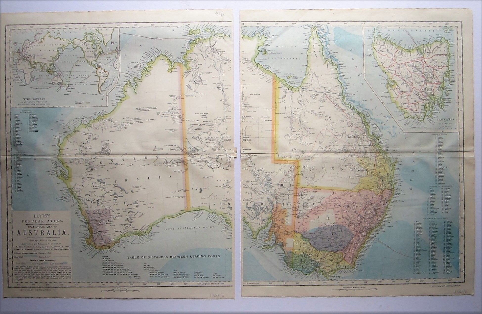 Statistical Map of Australia (photo 1)