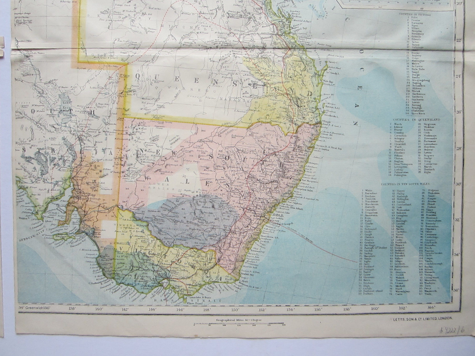 Statistical Map of Australia (photo 6)