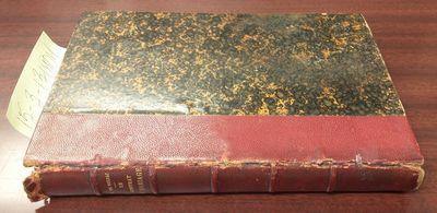 Paris: Librairie des Bibliophiles, n.d.. Hardcover. 12mo; pp 277; G/no-dj; burgundy 1/4 bound spine ...