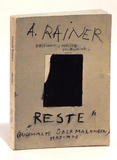 Stuttgart: Hansjorg Mayer, 1978. First Trade Edition. Paperback. Very good. Octavo (23 cm), pp. 252....