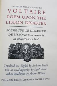 image of POEM UPON THE LISBON DISASTER