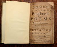 The songs of Moses and Deborah paraphras'd with poems on several occasions. Never before publish'd. To which is added a pindarick on Mr L'estrange