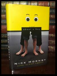 About A Boy ✎SIGNED✎ by NICK HORNBY Mint Hardback 1st Edition First Printing