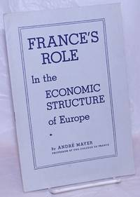 image of France's Role in the Economic Structure of Europe