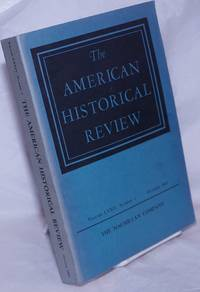 image of The American Historical Review: Volume LXXIV, Number 1, October 1968