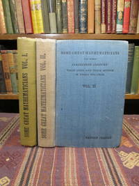 image of Some Great Mathematicians of the Nineteenth Century: Their Lives and Works in Three Volumes (TWO VOLS ONLY)