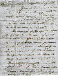 image of A Collection of Letters Written by Sampson Vryling Stoddard Wilder (1780-1865), Founder of Amherst College to Rev. John White Chickering (1808-1888) over a period of twenty-seven years.