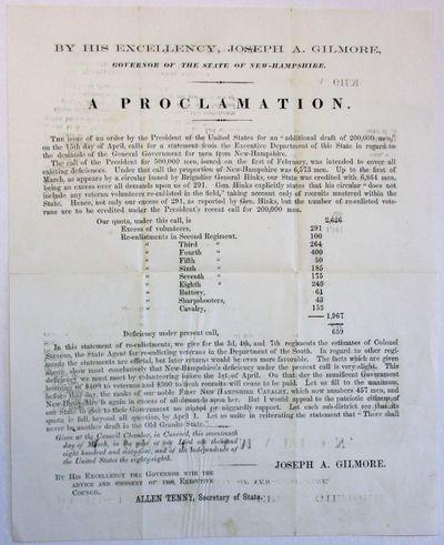 [Concord, 1864. Broadside, 8