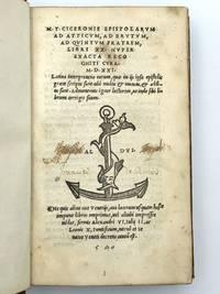 image of Epistolarum ad Atticum, ad Brutum, ad Quintum Fratrem, Libri XX