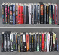 Group of 40 titles by Michael Connelly, all but one signed or inscribed: The Black Echo, The Black Ice, The Black Ice (review copy), The Concrete Blonde, The Last Coyote, The Poet, Trunk Music, Trunk Music (proof copy), Blood Work, Blood Work (advance copy), Angels Flight, Void Moon, A Darkness More Than Night, City of Bones, City of Bones (limited edition), Chasing the Dime, Chasing the Dime (advance copy), Lost Light, The Narrows, Crime Beat, The Closers, The Closers (limited edition in 1/4 leather), The Closers (limited edition in cloth), The Lincoln Lawyer, Plots With Guns, Echo Park, The Overlook, The Blue Religion, The Brass Verdict, The Scarecrow, The Scarecrow (limited edition), 9 Dragons, The Reversal, The Reversal (proof copy), The Fifth Witness, The Black Box, The Drop, The Gods of Guilt, The Burning Room, The Crossing