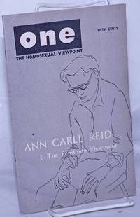One; the homosexual magazine vol. 5, #9, December 1957: Ann Carll Reid and the feminie viewpoint