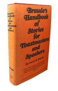 image of BRAUDE'S HANDBOOK OF STORIES FOR TOASTMASTERS AND SPEAKERS