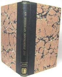 image of AN AMERICAN BOOKSHELF, 1755