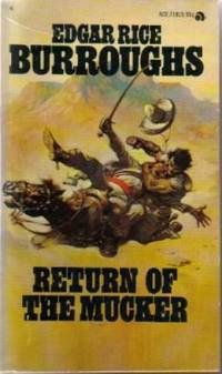 Return of the Mucker by  Edgar Rice (cover art by Frank Frazetta) Burroughs  - Paperback  - 1974  - from N & A Smiles (SKU: 07701)