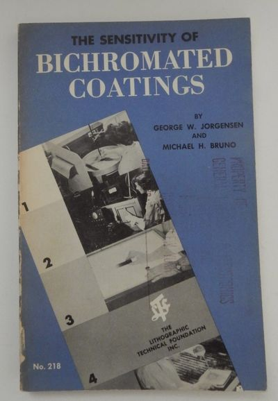 New York: Lithographic Technical Foundation, 1954. First Edition. Wraps. Good. First Edition. xii, 1...