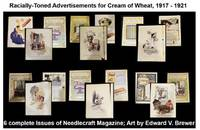 6 Needlecraft magazines with inside front cover Cream of Wheat Advertising plus one cover with advertising. 7 pieces in total.