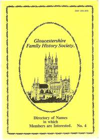 image of Directory of Names in Which Members are Interested. No.4