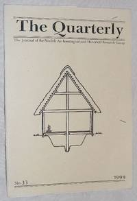 The Quarterly No.33, March 1999: The Journal of the Norfolk Archaeological and Historical...