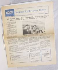 image of NGLTF National Lobby Days Report; Summer 1992; 6th National Lobby Days launched for Lesbian/Gay Rights