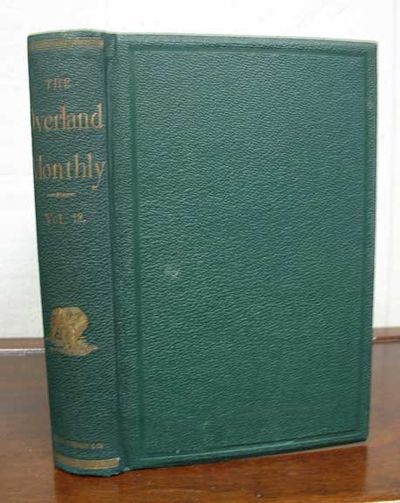 San Francisco: John H. Carmany & Company, 1874. 1st volume edition. Original publisher's pebbled gre...