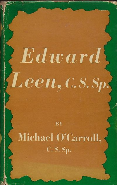 Westminster, Maryland: The Newman Press, 1953. First Edition. Signed inscription from O'Carroll on t...